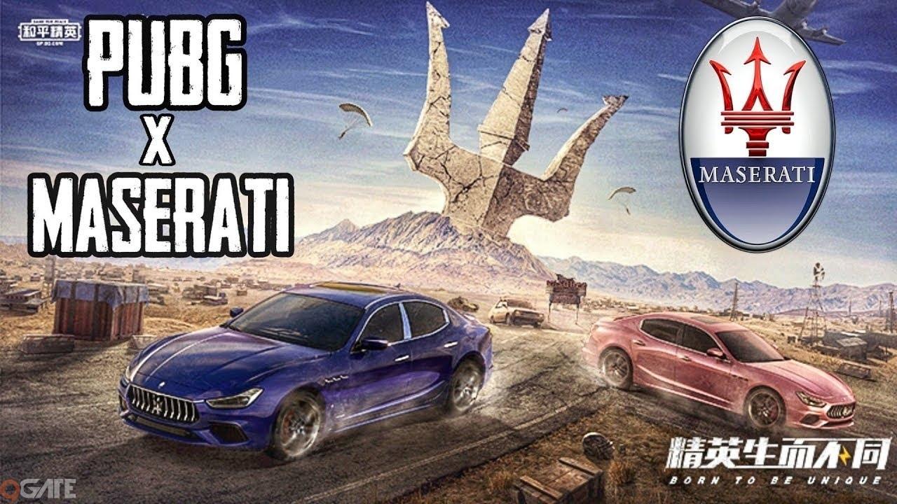 """Năm mới, bất ngờ siêu xe Maserati """"xâm chiếm"""" thị trường PUBG Mobile"""
