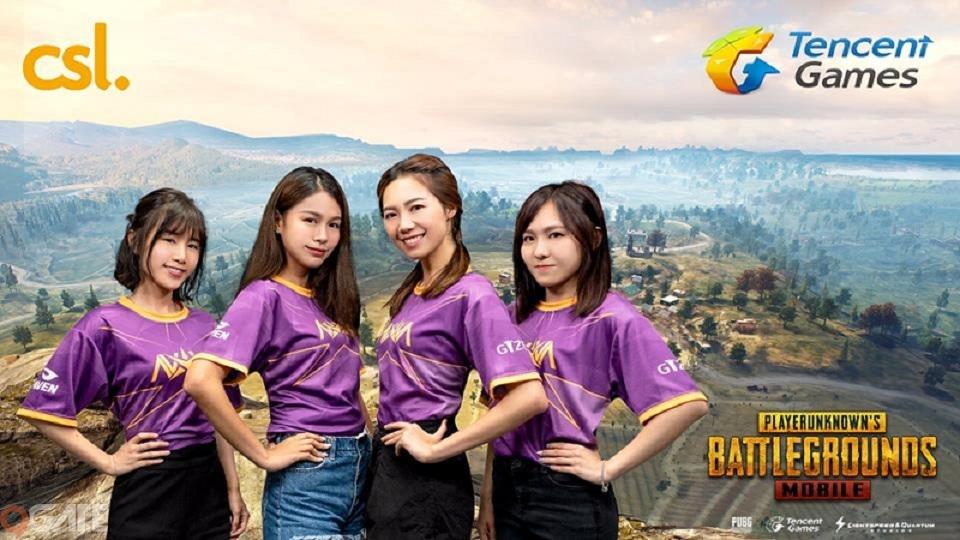 Khởi tranh giải đấu PUBG đầu tiên dành cho nữ game thủ