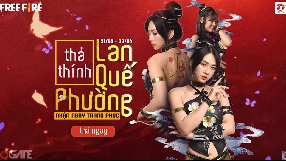 """Garena Free Fire thả thính cá tháng 4: Lan Quế Phường """"vs"""" Sơn Tinh Thủy Tinh"""