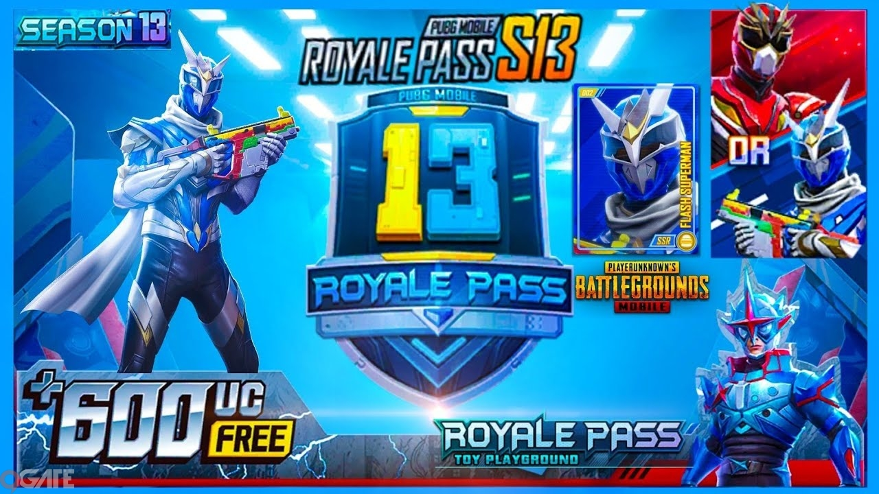 PUBG Mobile Season 13 sẽ được gọi là Sân chơi đồ chơi, Royale Pass được hé lộ