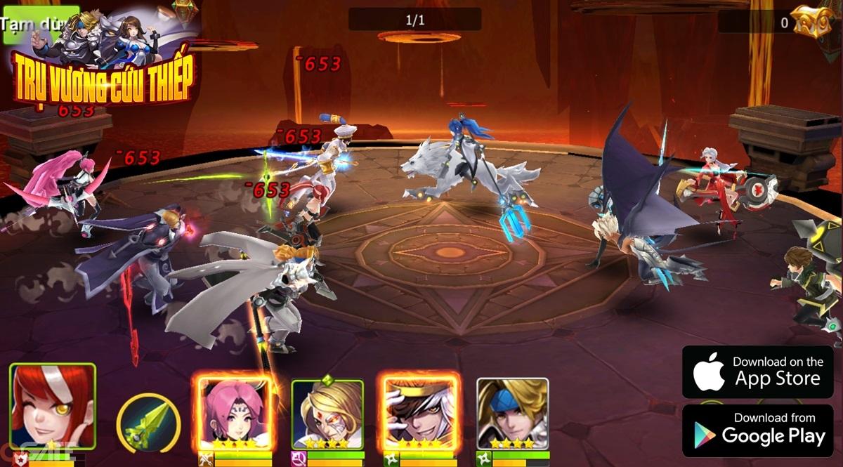 Trụ Vương Cứu Thiếp: Game mobile rút tướng cực chất sắp cập bến thị trường Việt Nam
