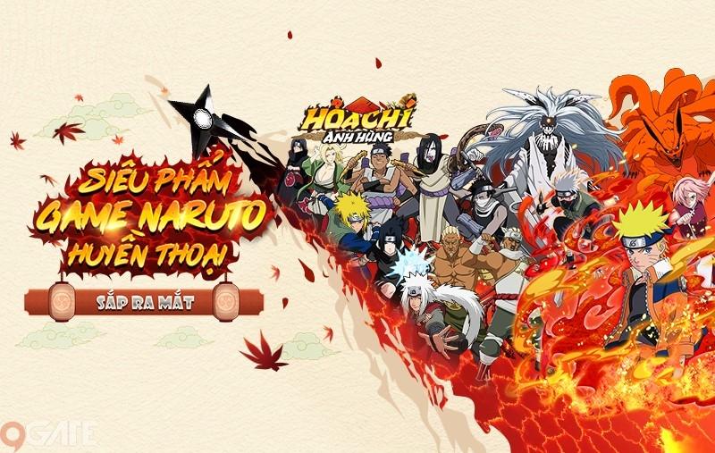 Funtap sắp tung ra siêu phẩm đậm chất Naruto - Hỏa Chí Anh Hùng