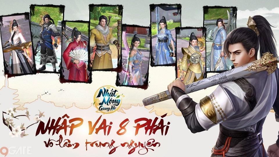 Nhất Mộng Giang Hồ - Game kiếm hiệp nhất phẩm, tái hiện võ học Kim Dung chuẩn bị ra mắt