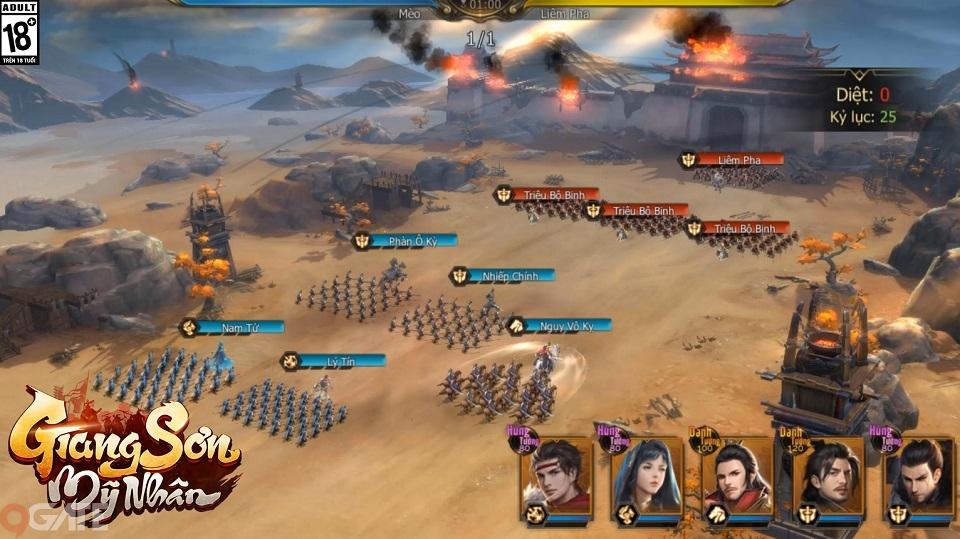 Giang Sơn Mỹ Nhân: Trailer Game