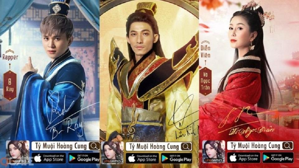 """NPH game Tỷ Muội Hoàng Cung """"chơi lớn"""", mời loạt idol về quảng bá game"""