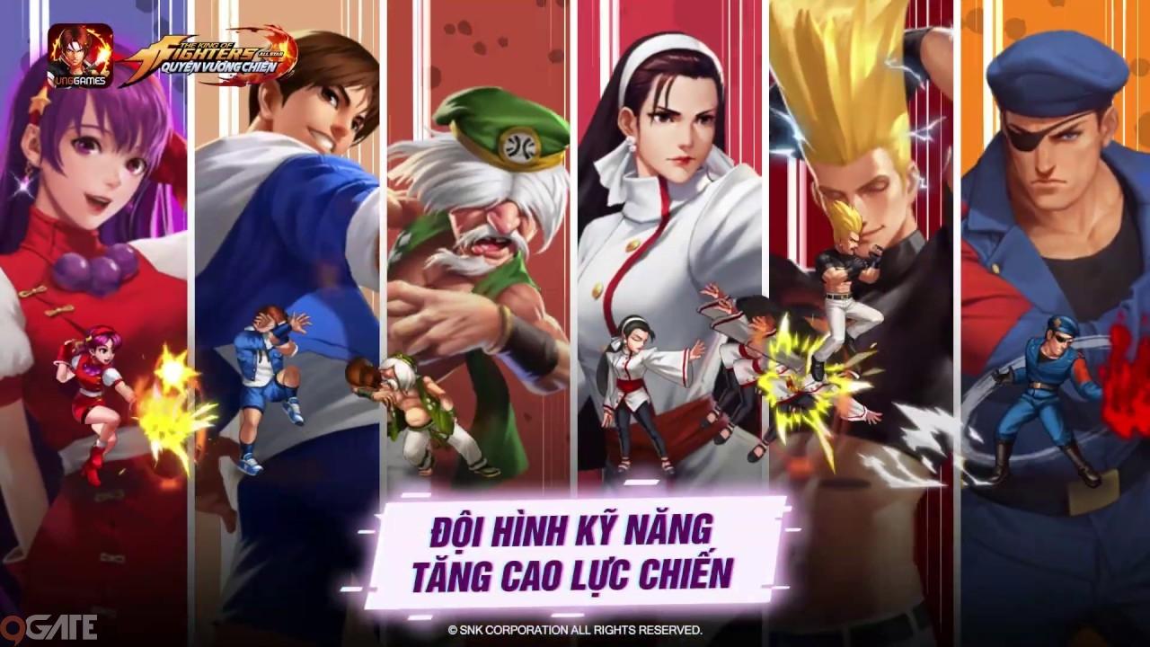 KOF AllStar VNG – Quyền Vương Chiến: Chơi arcade theo phong cách thế kỷ 21