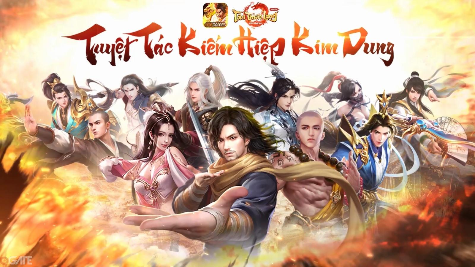 """Tân Thiên Long Mobile: Phiên bản mới """"Thiền Võ Thiếu Lâm"""""""