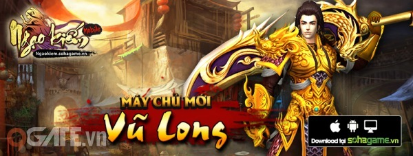 Ngạo Kiếm Mobile chính thức ra mắt máy chủ mới Vũ Long, dành tặng cho những  game thủ may mắn nhất Gift Code giá trị. Mỗi Code chứa:
