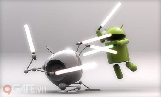 Fan Android 'tị nạnh' với iOS trong Hải Tặc Soha