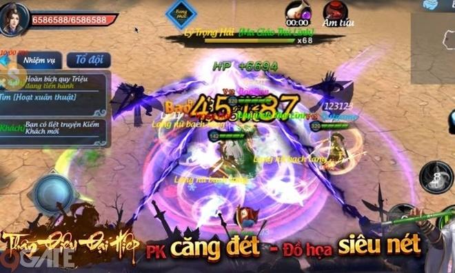 Bom tấn MMORPG Thần Điêu Đại Hiệp bất ngờ cập bến Việt Nam