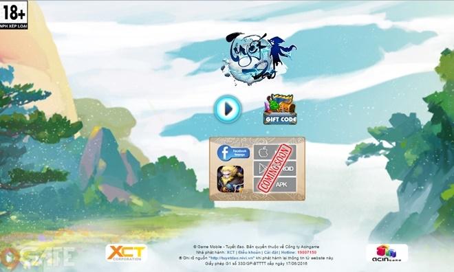 Tuyết Đao Quần Hiệp Truyện: Trailer game