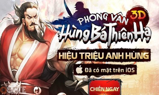 Điểm Tin Tối 27/8: Phong Vân 3D chính thức cập nhật phiên bản mới Hùng Bá Thiên Hạ
