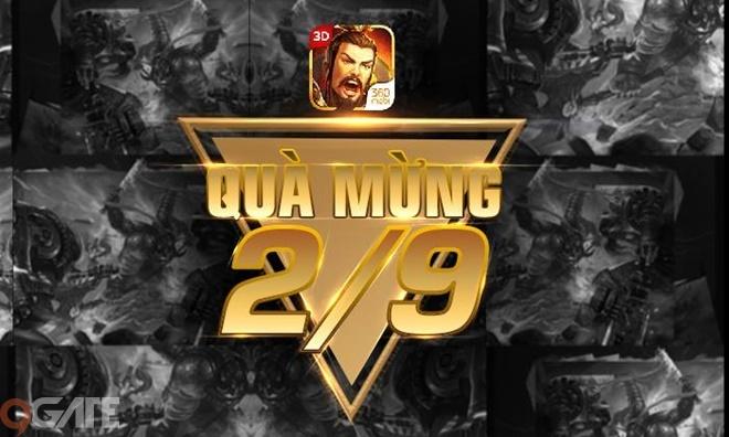 �iểm Tin Tối 31/8: 3Q 360mobi và Thiên Hạ tung chuỗi sự kiện chào mừng Quốc  Khánh - �iểm Tin   Tin Game   9Gate