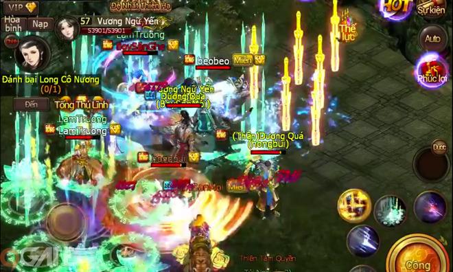 Ngạo Kiếm Mobile: Video hoạt động bang hội trong game - Video Game | Video  | 9Gate