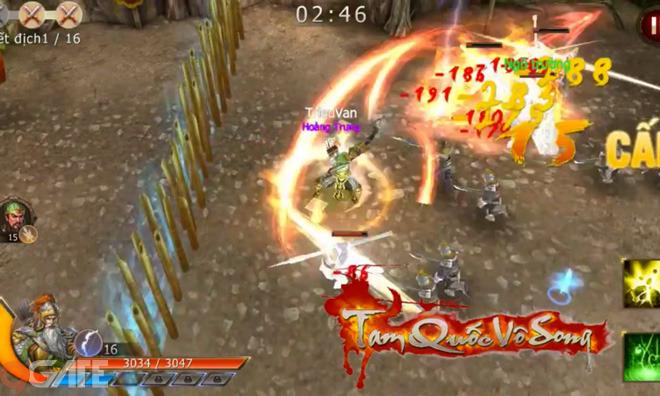 Tam Quốc Vô Song: Video giới thiệu Skill Hoàng Trung