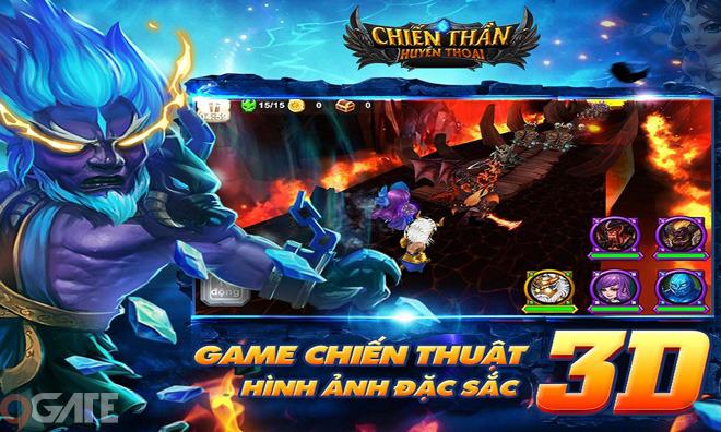 Chiến Thần Huyền Thoại: Trailer Game