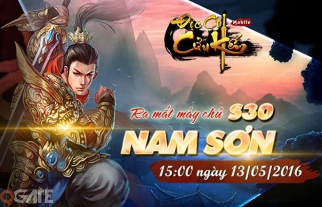 Với mục đích khích lệ tinh thần game thủ tại máy chủ mới Tây Sơn, Độc Cô  Cửu Kiếm Mobile đã quyết định tổ chức sự kiện đặc biệt trong 05 ngày ...