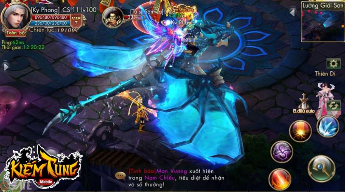 Kiếm Tung Mobile: Trải nghiệm game qua hình ảnh
