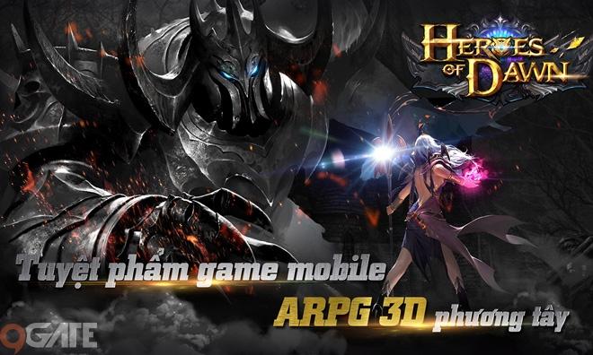 Heroes Of Dawn hoàn tất Việt Hóa, sẵn sàng ra mắt game thủ Việt ngày 15/11/2016