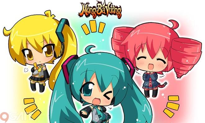 Mộng Bá Vương 3D - Chuẩn game mobile cho giới trẻ sẽ được VTC Mobile phát hành cuối năm nay