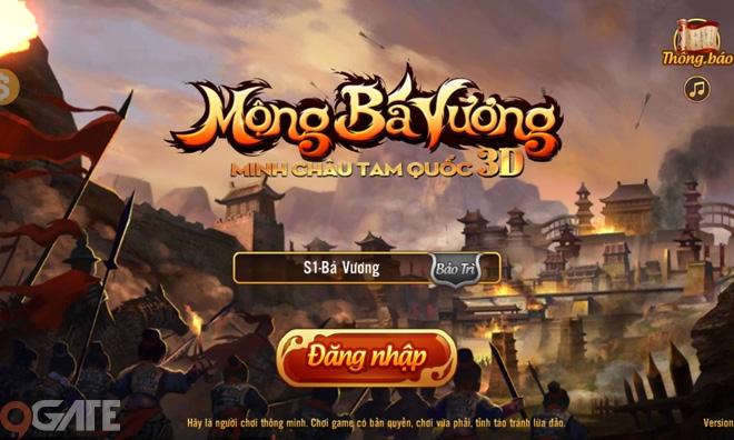 Mộng Bá Vương 3D: Video trải nghiệm game cho Tân Thủ