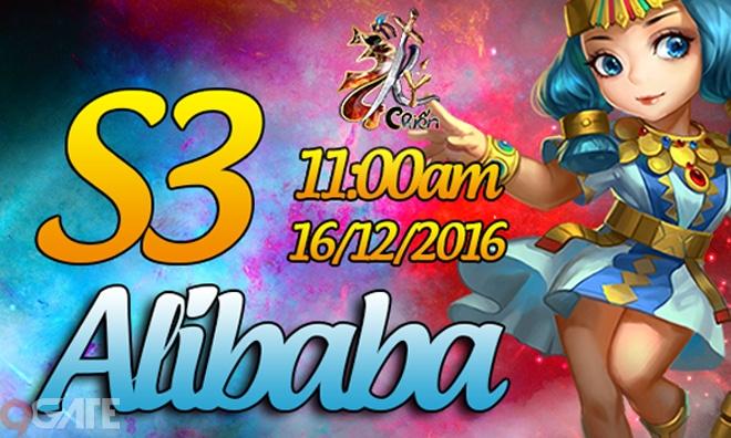 34 Chiến Ký ra mắt máy chủ S3 Alibaba, tặng Giftcode giá trị