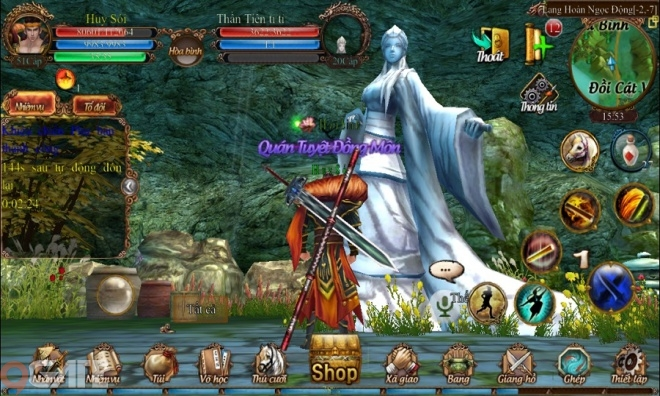 Ngoạ Hổ Tàng Long Mobile: Trailer Game