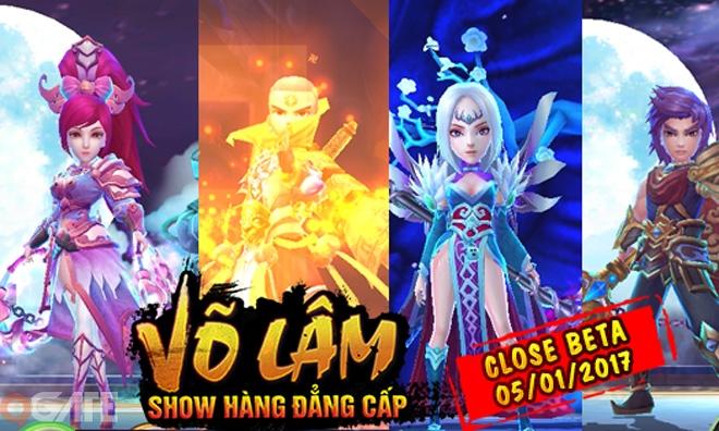 """Game Võ Lâm """"show hàng"""" đẳng cấp: Giang Hồ Kỳ Hiệp tung landing, ấn định ra mắt 05/01"""