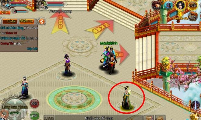Võ Lâm Mobile: Hướng dẫn cách nhập Giftcode trong game