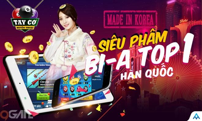 VTC Game mang game Bi-a Top 1 Hàn Quốc về Việt Nam, phát hành trong tháng 2