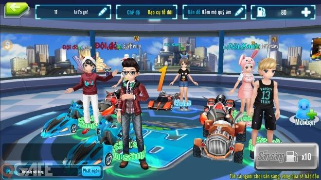 Và thật may khi AU Speed là một game mobile casual mang tính giải trí tuyệt  đối, là sự kết hợp giữa 3 yếu tố thời trang, âm nhạc và đua xe ...