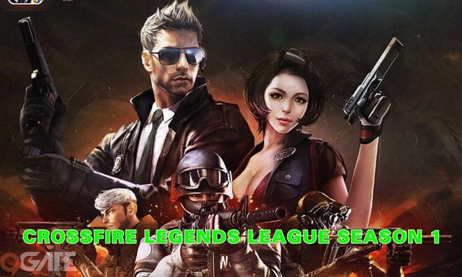 VNG khởi động giải đấu Crossfire Legends đầu tiên, tổng tiền thưởng hơn 600 triệu đồng