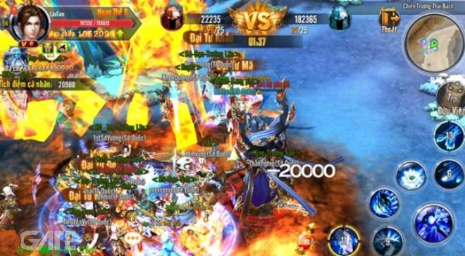 Ngay từ khi ra nhập thị trường, game xác định cho mình thế mạnh là Quốc  chiến - hoạt động PK real time cho phép người chơi trong cùng Server tham  gia ...