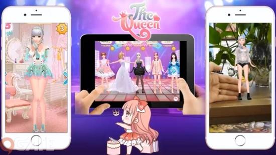 The Queen: Game thời trang 3D