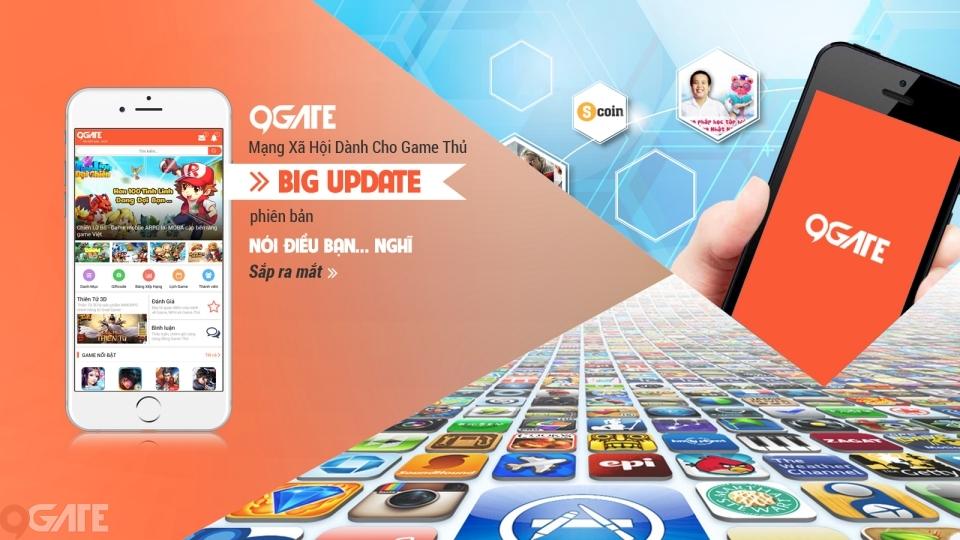 Có gì HOT trong phiên bản Big Update Tháng 8 của 9Gate?