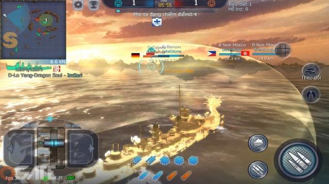 Nếu thích World of Warships thì phải chơi thử Thủy Chiến