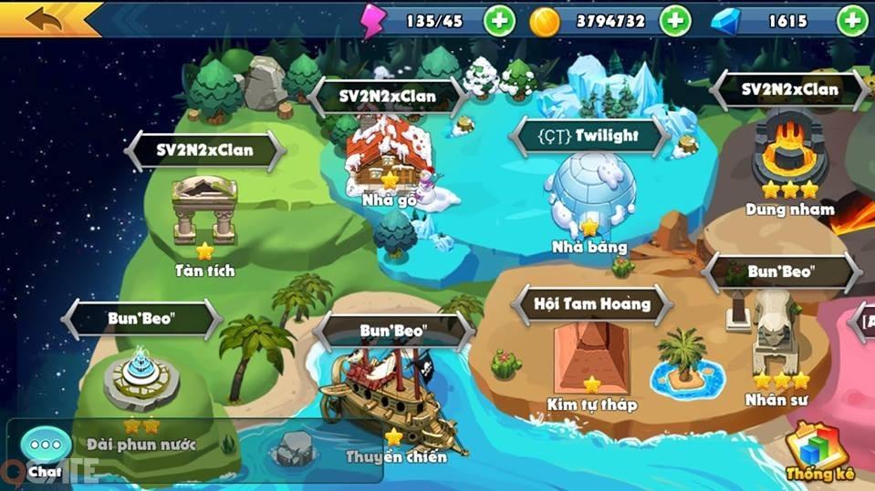 Boom Bá Online cập nhật Clan Chiến, ra mắt máy chủ S2 Nham Thạch, tặng Giftcode