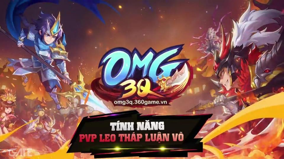 OMG 3Q: Tính năng PVP Leo Tháp Luận Võ