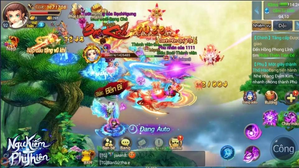 """Ngự Kiếm Phi Thiên - MMORPG """"PK không chiến"""" chính thức ra mắt, tặng ngay Giftcode 1 triệu"""