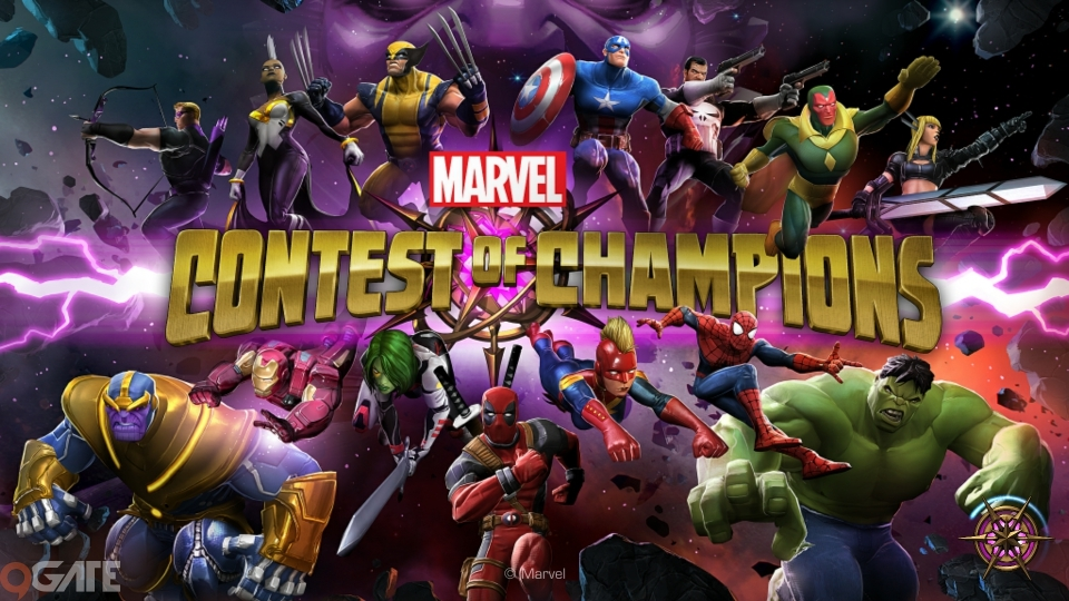 Marvel Contest of Champions: Trailer Game