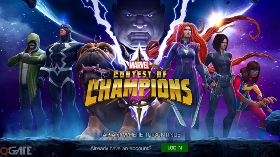 Marvel Contest of Champions: Video trải nghiệm game cho Tân Thủ