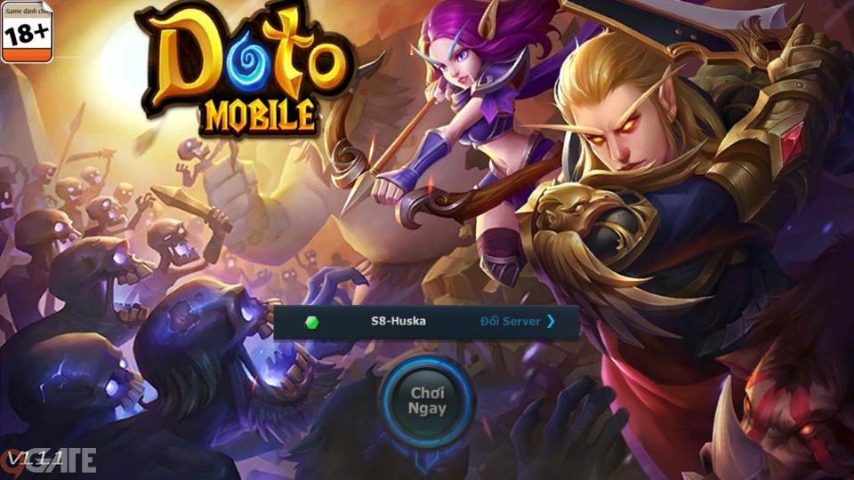 Doto Mobile: Video trải nghiệm game cho Tân Thủ