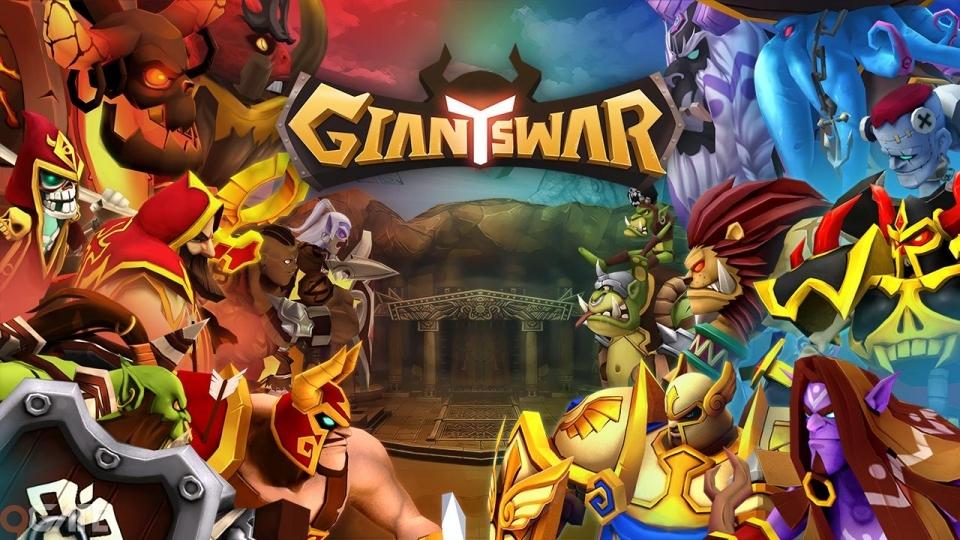 Giants War: Game Thẻ Bài Mới Của GAMEVIL Chính Thức Mở Cửa Closed Beta