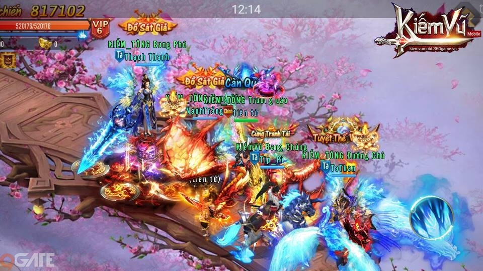 Thú cưng Linh Kỵ đã xuất chiến trong Kiếm Vũ Mobi VNG