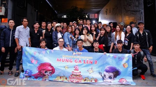 Gunner Hồ Chí Minh tổ chức Offline mừng Sinh nhật 3 tuổi của Gunny Mobi