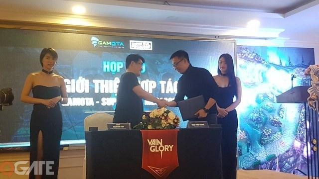"""Gamota chính thức """"hợp tác"""" với Super Evil MegaCorp để phát hành Vainglory tại Việt Nam"""