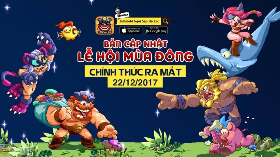360mobi Ngôi Sao Bộ Lạc công bố thời gian ra mắt Lễ Hội Mùa Đông