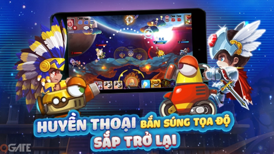 Phiên bản mobile của 'huyền thoại' Gunbound đã được VNG mua về Việt Nam