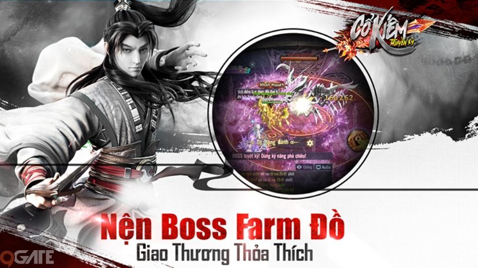Hệ thống Boss siêu khủng: Thiên đường cày cuộc farm đồ của Cổ Kiếm Truyền Kỳ