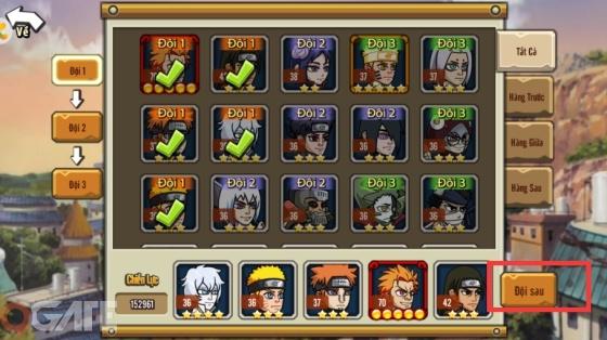 Trải nghiệm Ninja Lead Mobile – Game đấu thẻ tướng về các nhân vật trong truyện tranh Naruto đầy quen thuộc 2